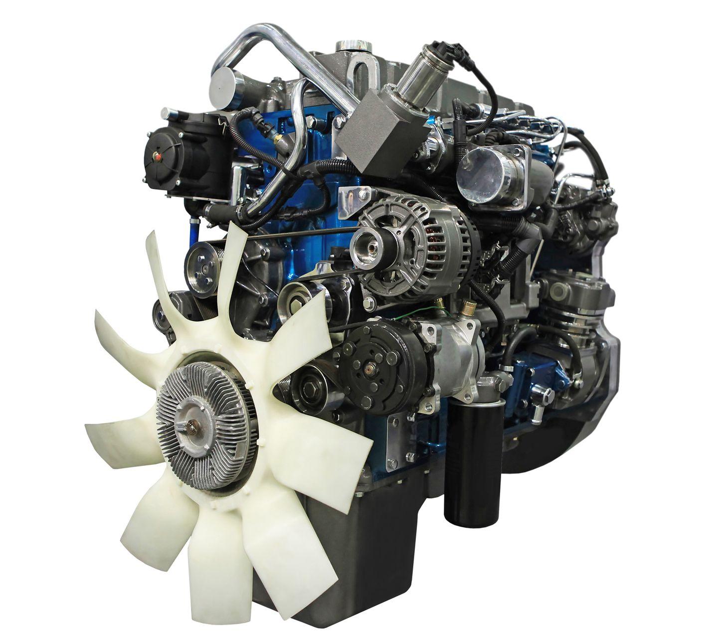 10689479 - close up shot of turbo  diesel engine